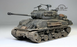 M4A3E8 Sherman Fury Tank WW2 1:35 Pro Built Model - $346.50