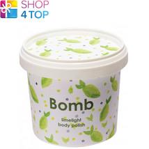 Limelight Body Polish 365 Ml Bomb Cosmetics Lemon Lime Essential Oils Natural - $12.46