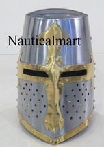 NauticalMart Medieval Crusuder Knights Templar Armour Helmet - $199.00