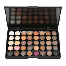 40 colors Smoke Matte Eye shadow Palette Make Up Earth Palette EyeShadow... - $15.92