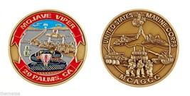 "MARINE CORPS 29 PALMS MOJAVE VIPER MCAGCC 1.75"" CHALLENGE COIN - $16.24"