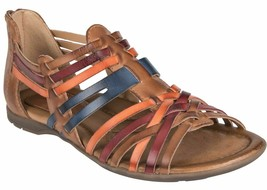 Womens Earth Origins Bonfire Sandals - Sand Brown Leather, Size 7 M US - $109.99