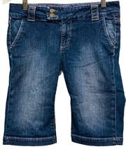 Paige Premium Denim Women's Sz 27 Sweetzer Jean Side Pockets Shorts Berm... - $29.69