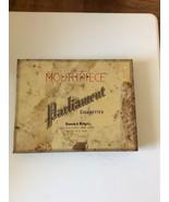 Vintage BENSON & HEDGES  PARLIAMENT  CIGARETTE TIN  Held 50 Cigarettes NICE - $28.95