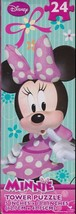 Minnie Mouse tower puzzle Disney 5 inch x 18.8 ... - $5.89