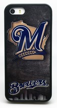 MILWAUKEE BREWERS MLB BASEBALL PHONE CASE FOR iPHONE 7 6S 6 PLUS 5C 5 5S... - $14.97