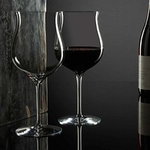 Elegance Burgundy Dessert Wine Glass Set of 2 - $89.98