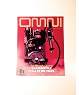 GHOSTBUSTERS OMNI PROTON PACK CUSTOM MAGAZINE COVER SEEN IN MOVIE BILL M... - $30.00