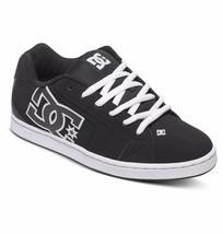 Mens Dc Net Skateboarding Shoes Nib Black Black White (Blw) - $55.24