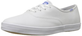 Keds Women's Champion Original Leather Sneaker , White Leather - $81.00