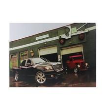 Northlight LED Ford Trucks at O'Briens Auto Service Canvas Wall Art 15.7... - $14.59