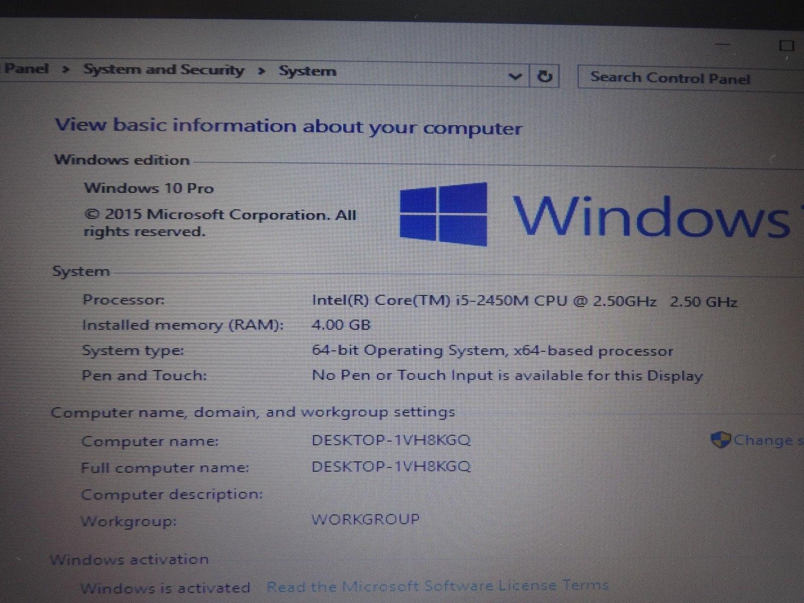HP ProBook 6560b 15 6