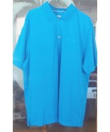Cutter & Buck CB Drytec Blue Hutt-Zollars Polo Short Sleeves L - $25.73