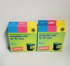 Staples HP  95 Tri Color Ink Cartridge SIH-R170C 2 pack - $8.29