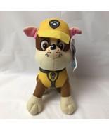"Paw Patrol Rubble Bull Dog Construction Dog Plush 8"" Spin Master Nickelo... - $14.84"