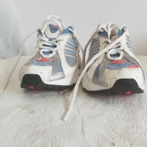 377b2d50e ADIDAS Women s White  blue Athletic Running and 50 similar items