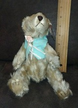 "TY Attic Treasure ""OLIVIA"" the TEDDY BEAR Tag 8"" MWMT PLUSH Retired - $4.99"