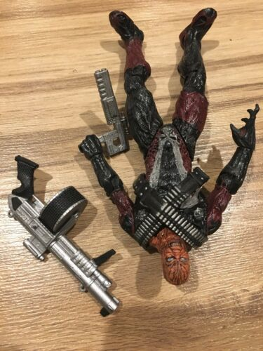 Spawn The Movie Combat Spawn Burnt No Mask Action Figure McFarlane Toys 1997