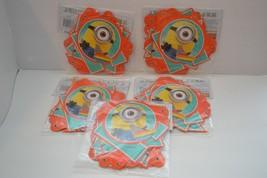 5x Minion Despicable Me Happy Birthday Banner Letter Party Decoration Su... - $10.50