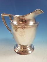 T&T Tabor & Tibbits Silverplate Hammered Water Pitcher  - $59.00