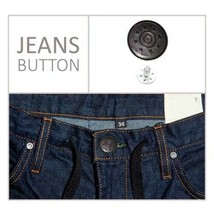 Jeans Buttons Studs in Gun Metal 17mm with Pins Hammer on DIY Coat Trous... - $71.64+