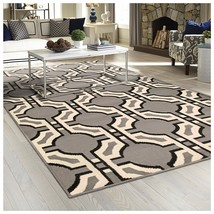 Superior Pritchard Collection Area Rug, Attractive Rug with Jute Backing... - $27.60