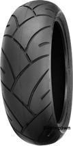 New 180/55ZR17 Shinko RED Smoke Motorcycle Tire W73 image 2