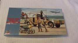 1/72 Scale Hasegawa Japanese Army Airplane Starter Truck Toyota GB Kit B... - $29.70
