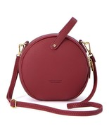 Women Shoulder Bag Leather Crossbody Messenger Circular Design Fashion H... - £25.03 GBP