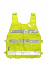 REFLECTIVE YELLOW SAFETY VEST CY02 ANSI CLASS 2 with Reflective Strips