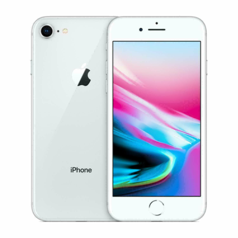 Apple iPhone 8 Unlocked 64GB 4G LTE -Silver