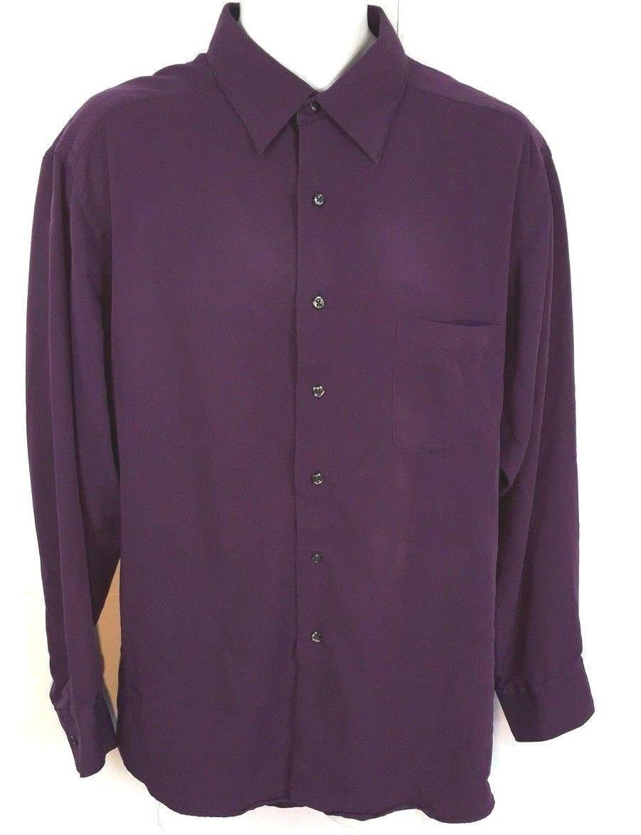 Geoffrey Beene Big and Tall Windowpane Dress Shirt