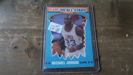 1990 Fleer All-Stars #5 Michael Jordan - $4.94