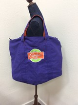 Candies Purple & Orange Tote Bag Large Beach Bag - $19.78