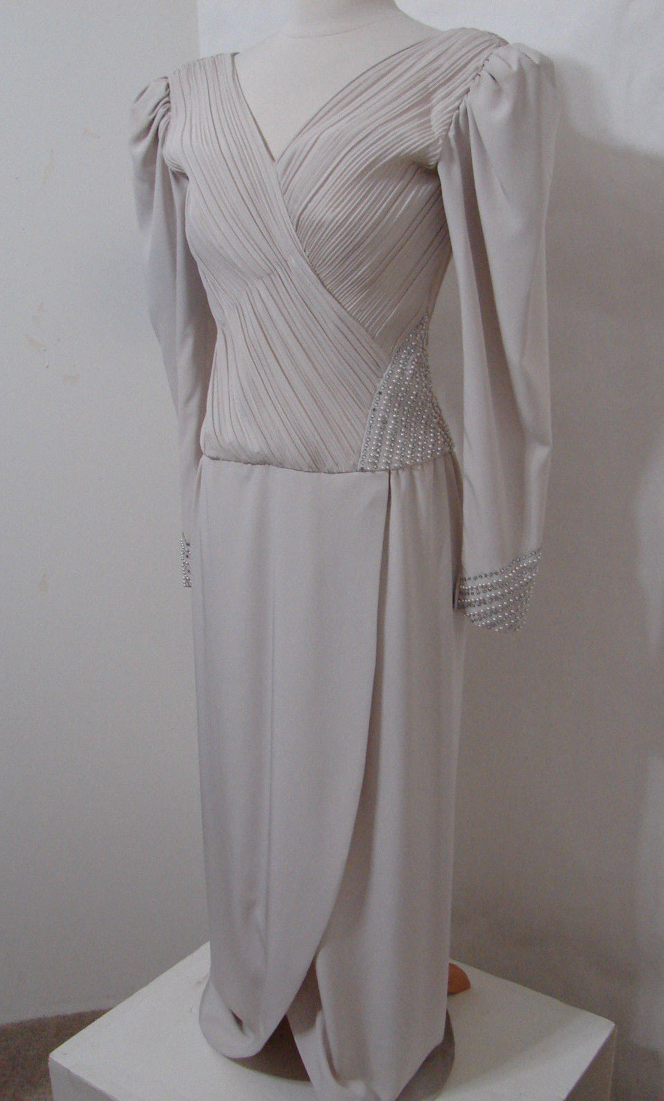 Rose Taft Couture Vintage Mob Champagne and similar items