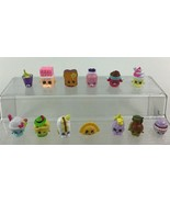 Shopkins 13pc Lot Food Accessory Themed Mini Toy Figures Authentic Moose... - $11.83
