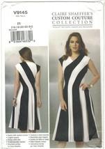 Vogue Claire Shaeffer 9145 Fit & Flare Bias Dress Pattern Choose Size Uncut - $14.99