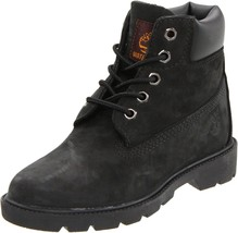 Timberland Toddler 6 Inch Classic Winter Boots Black 10810 - $65.71