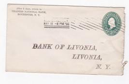 TRADERS NATIONAL BANK ROCHESTER NY MAY 18 1896 - $2.68