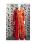 Digital Printed XL Size Cotton Gown Women Girls Party Wear Readymade Max... - $57.99