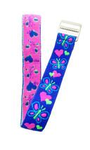Timex Ragazzi T89001 Cuori e Farfalle Ricambio Elastc-Fabric Cinturino O... - $7.42