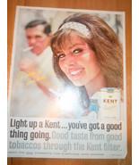 Vintage Kent Cigarettes Print Magazine Advertisement 1965 - $7.99