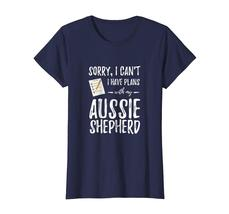 Dog Fashion - Australian Shepherd Dog Lover Plans Shirt Funny Dog Mom Gift Wowen image 4