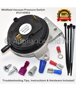 Whitfield Pellet Stove Air Pressure Switch Vacuum sensor 12145903 + Inst... - $58.95