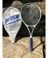 Prince J/R Pro 110 Kids Tennis Racket with Cover size 4 Very Good Condit... - $9.49
