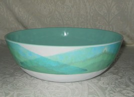 Artisan De Luxe Abstract Melamine XL Salad Pasta Serving Bowl NWT FREE S... - $39.99