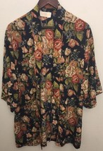 Victoria's Secret Robe Size S Small Floral Open Front - $21.00