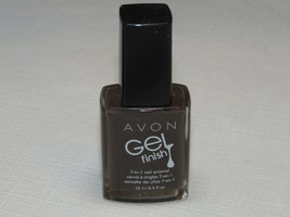 Avon Gel Finish 7-in-1 Nail Enamel Mdsld 12 ml 0.4 fl oz nail polish man... - $12.51