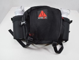 Ultimate Adjustable Athletic Fanny Pack Waist Day Pack Bag 2 Water Bottle  - $44.82 CAD