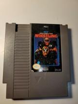 WCW World Championship Wrestling (Nintendo Entertainment System, 1990) NES - $9.95